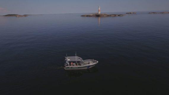 Museovirasto ja Metsähallitus vedenalaisinventoimassa Jussarön Vesillä Raaseporissa