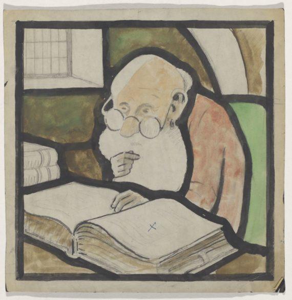 Toinen Svenska Klubbenin ikkunan kahdesta keskusmaalauksesta