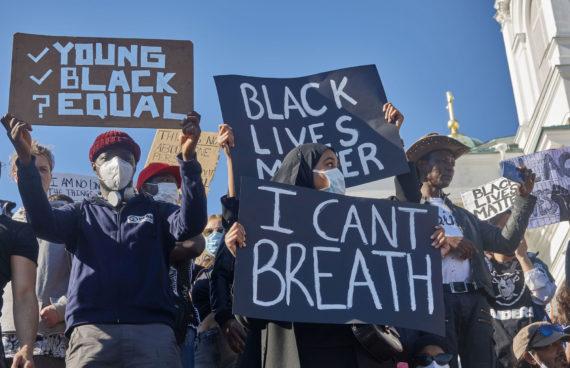 Black Lives Matter -tapahtuma
