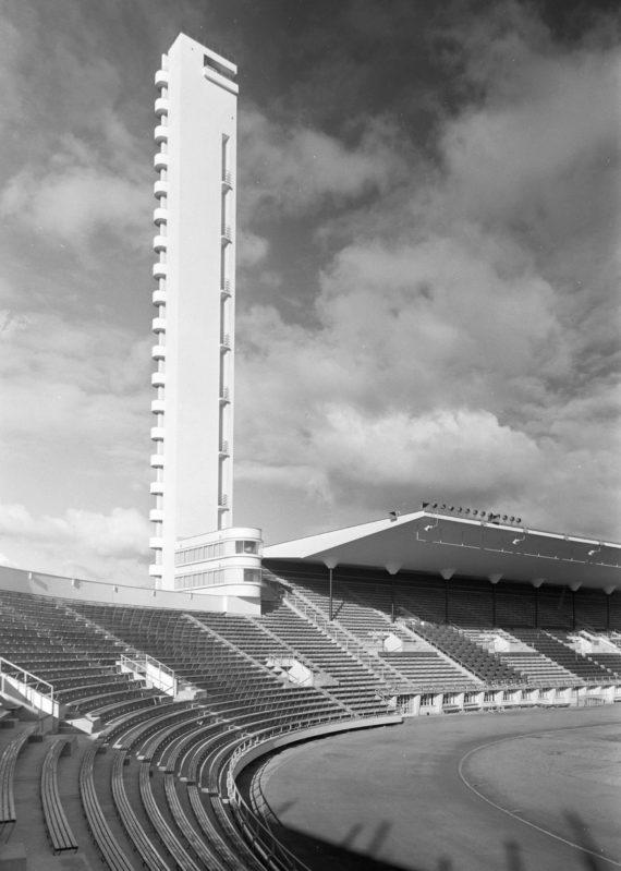 Olympiastadion vihkiäisvuonna 1938