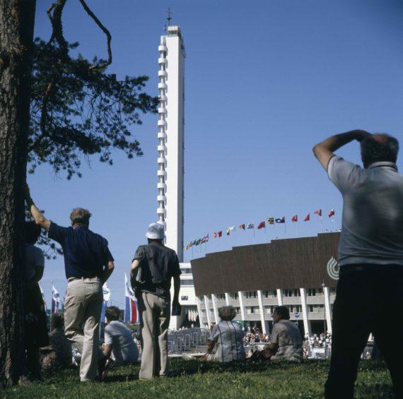 Vuoden 1983 yleisurheilun maailmanmestaruuskilpailut Olympiastadionilla